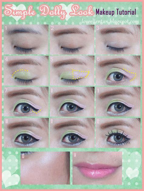 tutorial makeup natural dengan bb cream simple dolly look makeup tutorial loveellentan