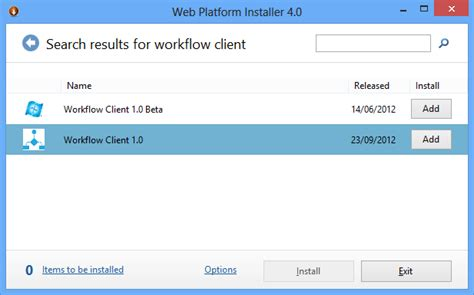 the option for the sharepoint 2013 workflow platform connect sharepoint 2013 to the workflow platform