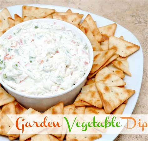 Garden Vegetable Dip Garden Vegetable Dip