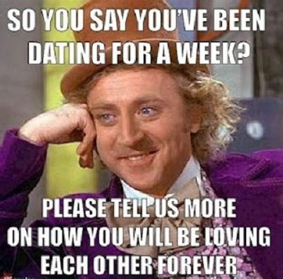 Facebook Memes About Love - in love forever funny willy wonka meme