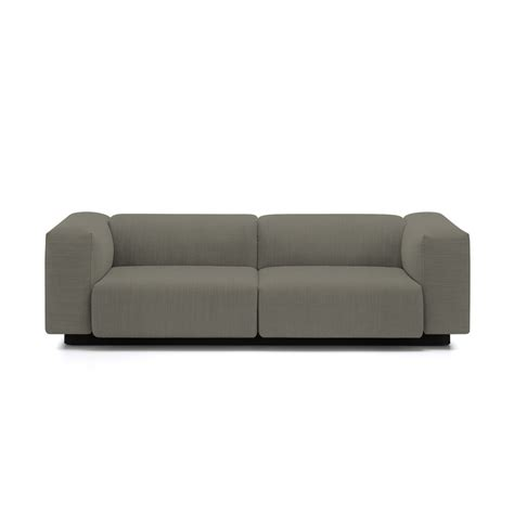 modular couches soft modular 2 seater sofa from vitra in the connox shop