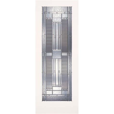 Feather River Doors 24 In X 80 In 1 Lite Preston Zinc 24 X 72 Interior Door
