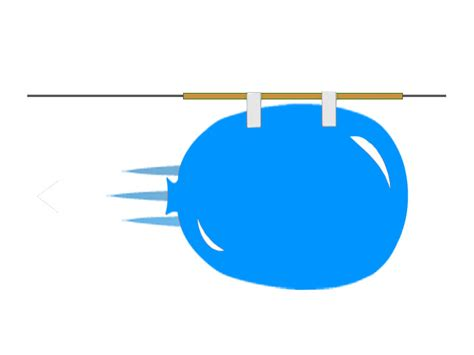Balon Roket 1 how to make a balloon rocket science4fun