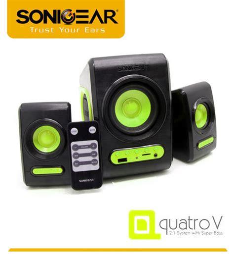 Speaker 2 1 Sonicgear Morro 2 sonicgear morro 2 btmi bluetooth speaker with sd card slot