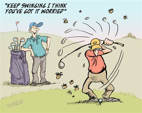keep on swinging golf toon of the week keep on swinging 19th hole