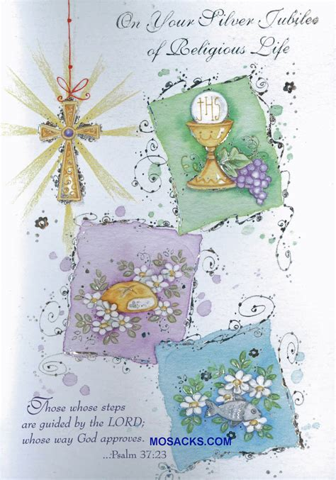 Wedding Anniversary Greetings Religious by On Your Silver Jubilee Of Religious Greeting Card