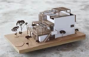 木構架建築模型製作範例 foot work 走思客設計圖誌