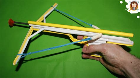 How To Make A Paper Cross Bow - how to make a paper crossbow mini crossbow