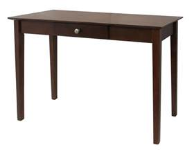 Narrow Foyer Tables Winsome Rochester Console Table With One Drawer Shaker By