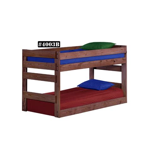 twin bottom bunk bed wood n things furniture gretna la