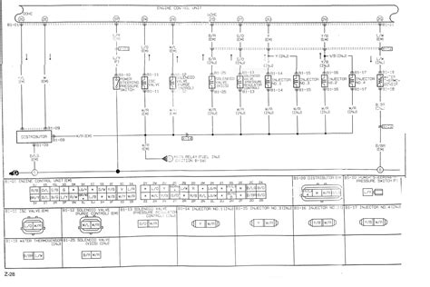 mazda 323 bj relay diagram wiring diagram with description