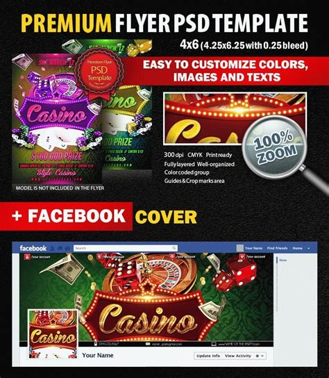 Casino Psd Flyer Template 8773 Styleflyers Casino Flyer Template Free