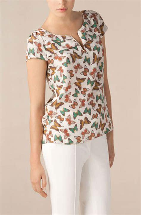 simple  stylish silk tops  girls girlshue