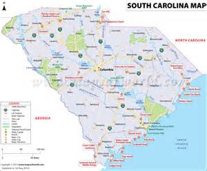 carolina map south carolina map map