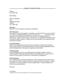 Addressing Cover Letter by Addressing A Cover Letter Career Cover Letter