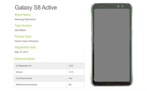 Samsung S8 Active galaxy s8 active reveals a rugged but with a non edge to edge display