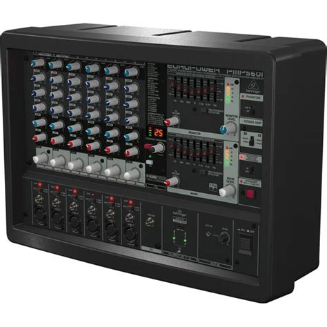 Power Mixer Behringer 6 Channel behringer europower pmp560m 500 w 6 channel powered mixer rapid