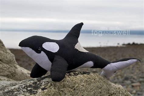 killer whale soft orca killer whale stitched soft sculpture