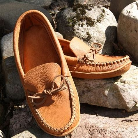Mens Handmade Moccasins - canada dads and s leather on