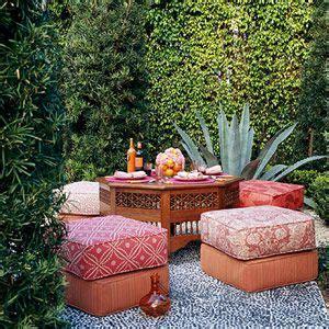 Moroccan Garden Ideas Moroccan Garden With Hedges Living Room Pinterest
