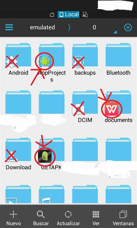 create folder android android create folder and make es file explorer add icon of my app stack overflow