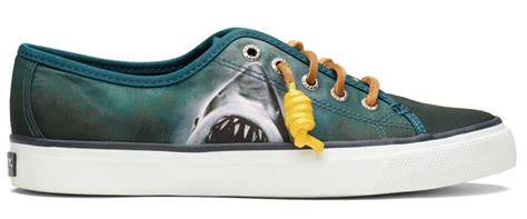jaws boat shoes sperry teams up with universal studios for jaws shoe