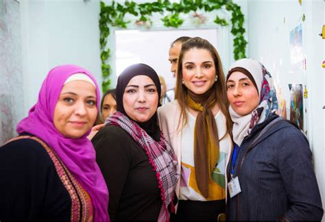Rania Dress Hq rania visits s protection empowerment center