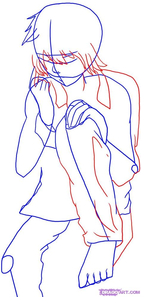 Drawing Near by How To Draw Near Step By Step Anime Characters Anime