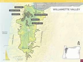 oregon wine map willamette valley oregon wine resource studio