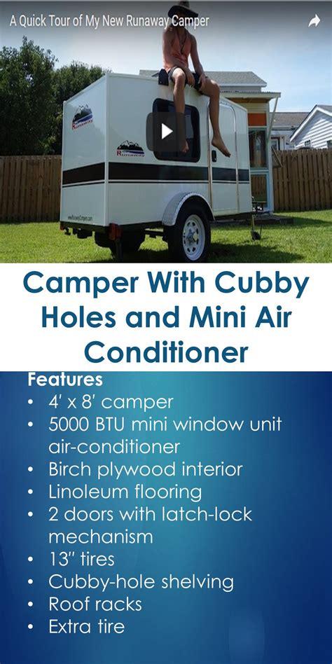 Camper  Cubby Holes  Mini Air Conditioner
