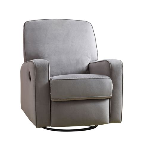 Gray Recliner Glider by Outdoor
