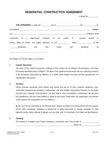building contractor contract template pics of residential construction contracts residential