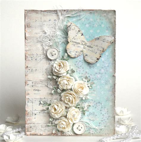 vintage shabby chic and steunk cards on