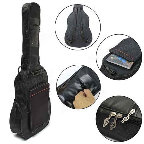Tas Tote Gitar 41 quot dikke gevoerde gitaar tas draagtas dubbele