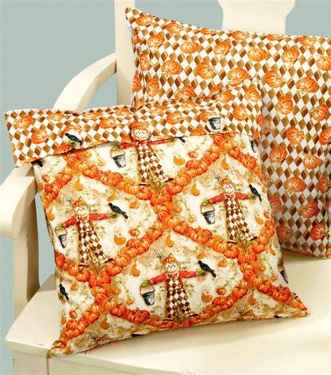 pumpkin print accent pillow joann jo