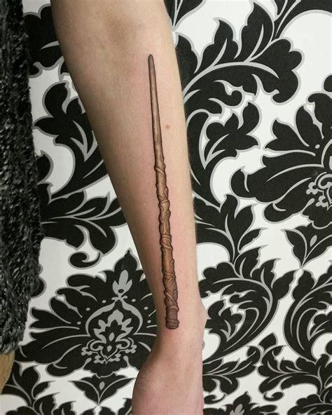 harry potter wand tattoos best 25 wand ideas on always harry