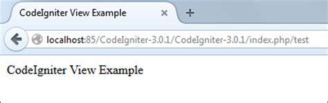 codeigniter quick tutorial codeigniter quick guide