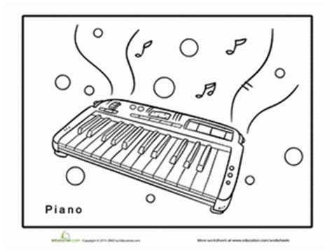 keyboard coloring pages free coloring pages of all the keys on a piano
