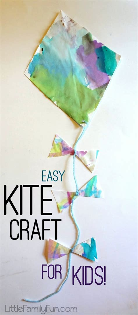 kite craft for family easy kite craft for