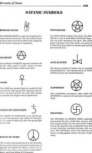 Similiar Devil Symbols And Meanings Keywords