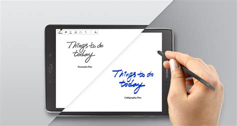 Tablet Samsung With Pen bol samsung galaxy tab a met s pen wit