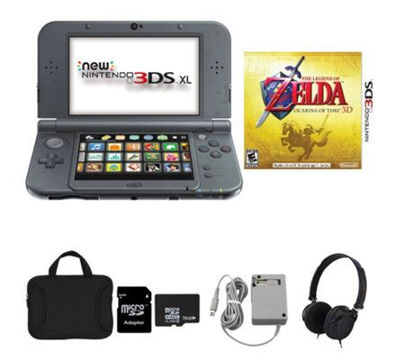 Jual Adaptor New3ds Xl 2ds 3ds Xl 3ds Ndsi Ori Limited 20170 new nintendo 3ds xl with ac adapter and accessories page 1 qvc
