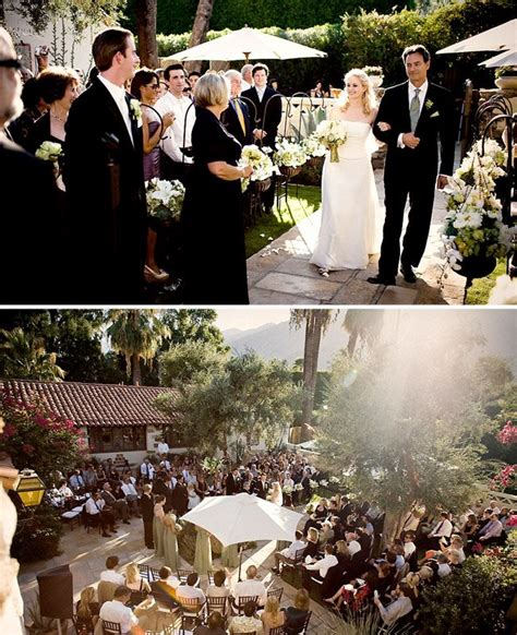 real backyard weddings katy john s backyard real wedding in palm springs ca