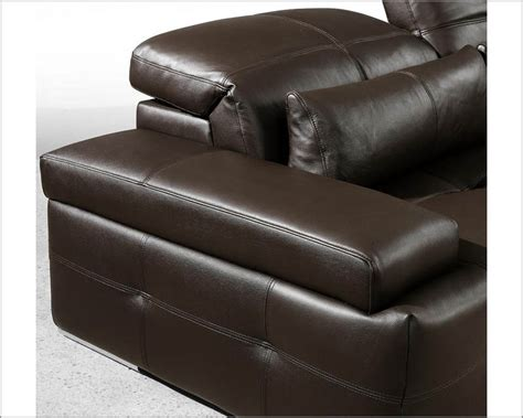 Modern Tufted Leather Sofa Modern Chocolate Tufted Leather Sectional Sofa Set 44l0568