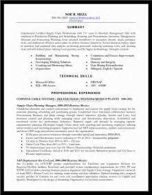 Supply Chain Resume Objective Supply Chain Manager Resume Sample Alexa Resume