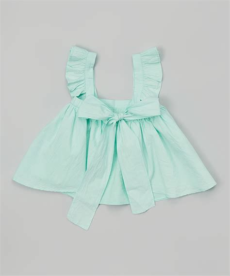 Dress Anak Sabrina Rempel Ruffle gentille alouette teal ruffle sabrina dress bloomer infant toddler zulily
