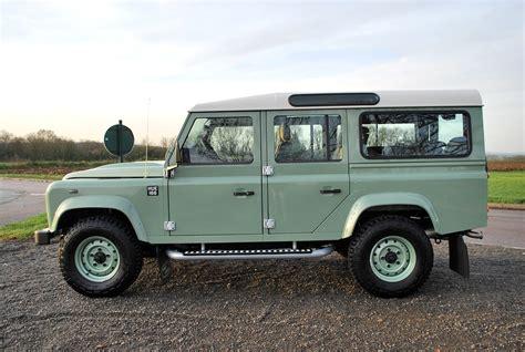 vintage land rover defender 110 land rover defender 110 station wagon heritage edition