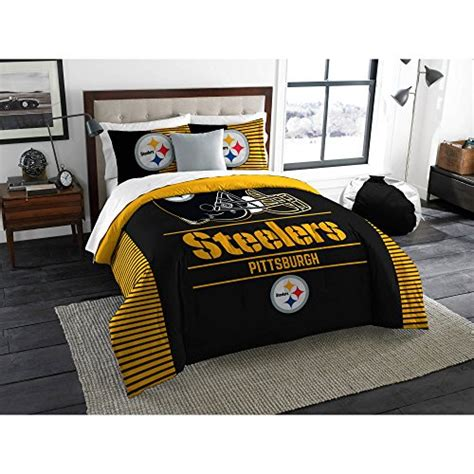 steelers bed set steelers comforters pittsburgh steelers comforter