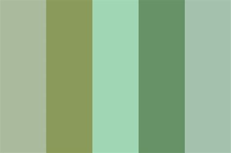 sage green color wheel sage green color palette for my house pinterest