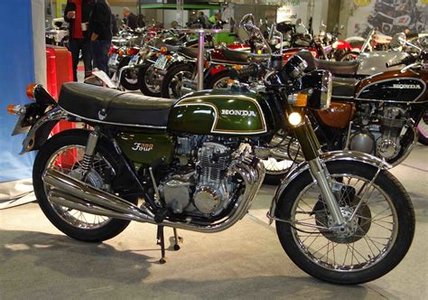 Motorrad Honda Kassel by Honda 350 Ausgestellt Bei Der Technorama Kassel Im M 228 Rz